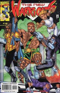 New Warriors, The (2nd Series) #10 VF/NM; Marvel | save on shipping - details in