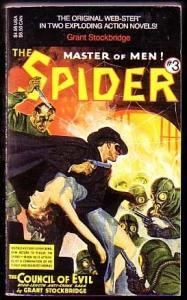 SPIDER-PULP-PAPERBACK #3-TERROR C&G FN/VF