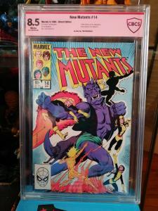 The New Mutants #14 (Marvel) 1st Illyana Rasputin as Magik  Mandrake sig not CGC