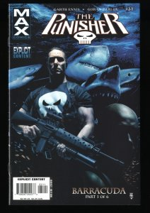 Punisher #31 NM+ 9.6 1st Barracuda!