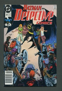 Detective Comics #614 / 9.4 NM  Newsstand  May 1990
