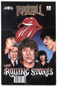Rock N Roll Comics #6 1989- ROLLING STONES 1st Print