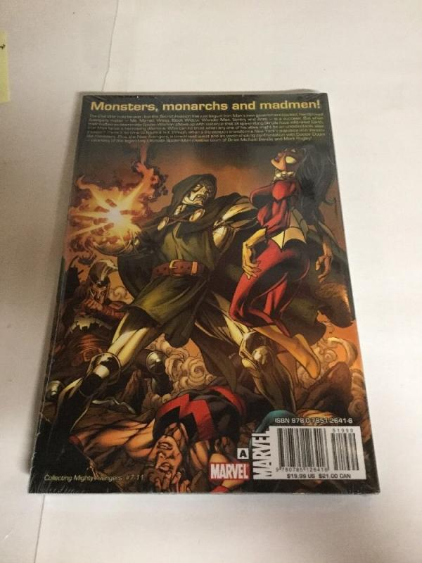 The Mighty Avengers  Vol 2 Venom Bomb Nm Hc Collects 7-11 TPB