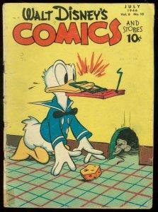 WALT DISNEYS COMICS AND STORIES #70 1946-DONALD BARKS G