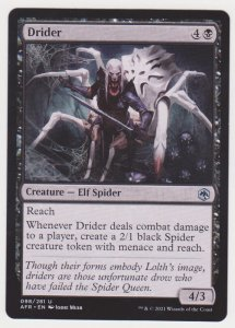 Magic the Gathering: Adventures in the Forgotten Realms - Drider