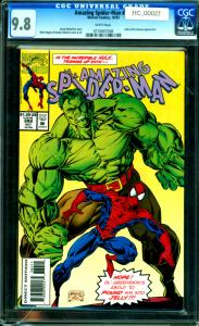 Amazing Spider-Man #382 CGC Graded 9.8 Hulk & Doc Samson App.