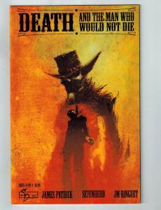 Death And The Man Who Would Not Die # 1 VF Silent Devil Comic Book James Pat S95