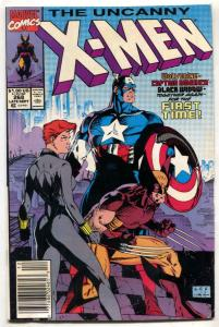 UNCANNY X-MEN #268 1990-Captain America-Black Widow