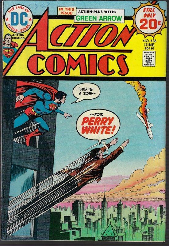 Action Comics #436 (DC, 1974)