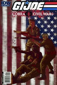 G.I. Joe: Cobra Civil War: Volume 2 #0, NM + (Stock photo)