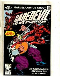 Daredevil # 171 VF/NM Marvel Comic Book Frank Miller Elektra Bullseye Hand HJ9