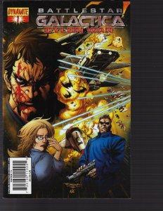 Battlestar Galactica Cylon War #1 (Dynamite, 2010)