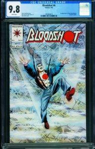 Bloodshot #6 First appearance of  Ninjak CGC 9.8 Valiant 1993826012
