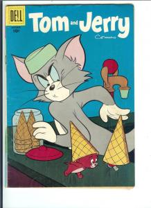 Tom and Jerry #147 - Silver Age - Vol. 1, Oct. 1956 (VG)
