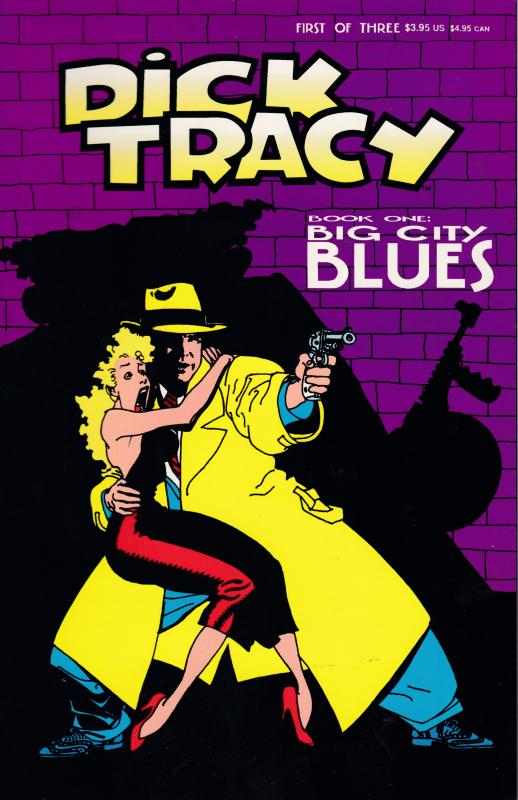 Dick Tracy Big City Blues 1 1990 Walt Disney  Publishing