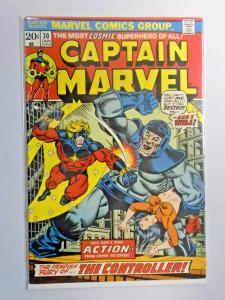 Captain Marvel #30 - First 1st Series - see pics - 5.5 - 1974