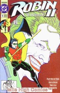 ROBIN II: THE JOKER'S WILD (1991 Series) #1 NEWSSTAND Very Good Comics Book