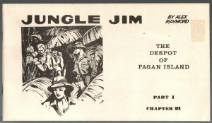Jungle Jim Part #1 1972-Alex Raymond comic strip reprints-FN