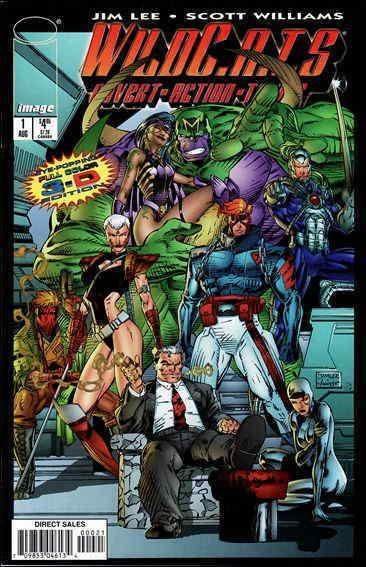 WildC.A.T.s #1B FN; Image | save on shipping - details inside