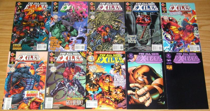 All New Exiles #∞ & 1-11 VF/NM complete series + variant - juggernaut - infinity