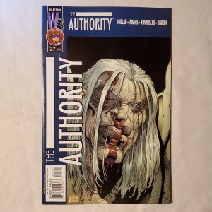Authority 27 Very Fine Cover by Art Adams