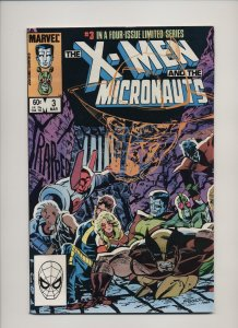 The X-Men and The Micronauts #3 (1984)