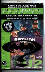 Batman Forever Movie Adaptation 1995 Still Sealed! Includes Card + CD