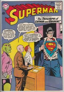 Superman #173 (Nov-64) VF/NM High-Grade Superman, Jimmy Olsen,Lois Lane, Perr...