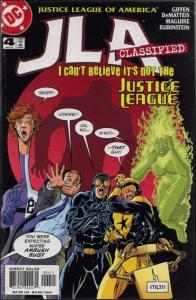 DC JLA: CLASSIFIED #4 VF/NM