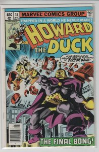 HOWARD THE DUCK (1976 Marvel Comics) #31 VG