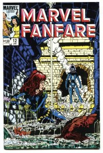 Marvel Fanfare #12 -2nd appearance of Iron Maiden 1983 NM-