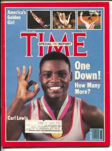 Time 8/13/1984-Carl Lewis-Mary Lou Retton-1984 Olympics Special Report-VF