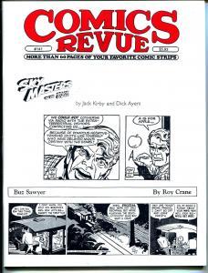 Comics Revue #141 1997-Kirby & Ayers-Crane-Sky Masters-Modesty Blaise-Tarzan-VF
