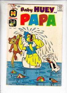 Baby Huey and Papa #4 (Nov-62) GD Affordable-Grade Baby Huey