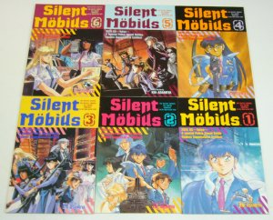 Silent Mobius #1-6 VF/NM complete series - kia asamiya  viz manga comics set lot