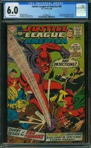 Justice League of America #64 (DC, 1968) CGC 6.0