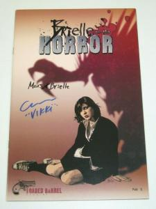 Brielle and the Horror #1 VF; signed by actors who play main characters