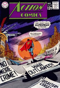 Action Comics #368 (ungraded) stock photo / ID#00E