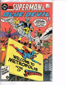 DC Comics Presents #96 Superman and Blue Devil  VF