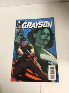 Grayson 3 Variant Nm Near Mint DC Comics New 52