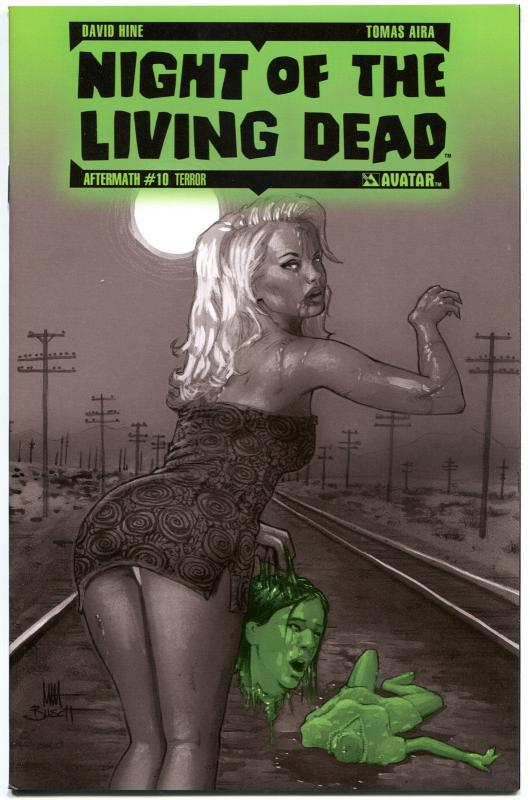 NIGHT of the LIVING DEAD Aftermath #10, NM, Terror, 2012, more NOTLD in store