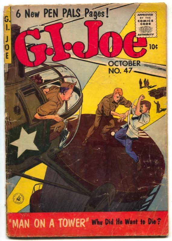 G.I. Joe #47 1956- Silver Age war comic VG
