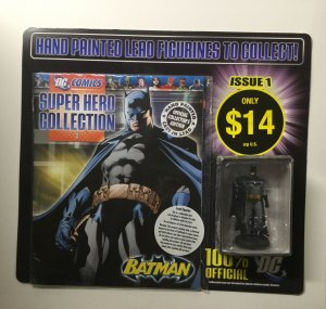 Super Hero Collection 1 Batman Figure Store Display 2008 Eaglemoss DC Comics