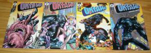 Oktane #1-4 VF/NM complete series GERARD JONES & GENE HA dark horse comics set