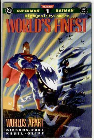 WORLD'S FINEST #1 2 3, NM+, Superman, Batman, Lex Luthor, Joker