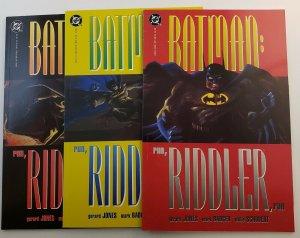Batman: Run, Riddler , Run #1-3 Complete Set High Grade NM Dc Comics 1992