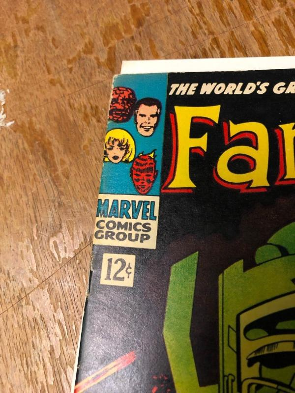 Fantastic Four #49 VF Marvel Comic Book Thing Doom Human Torch Silver Surfer FM3