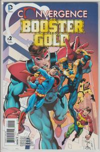 CONVERGENCE BOOSTER GOLD (2015 DC) #2 NM - SUPERMAN