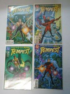 Tempest set:#1-4 8.0 VF (1996 DC)
