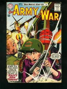 OUR ARMY AT WAR #142 1964-SGT ROCK FR